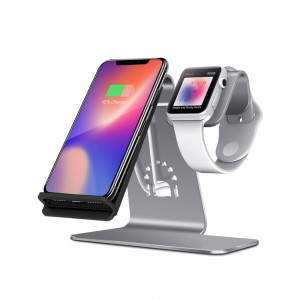 Aluminiowy Stojak Ładowarka do iPhone Apple Watch