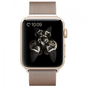 Bransoleta MILANESE Loop do Apple Watch 42mm Gold