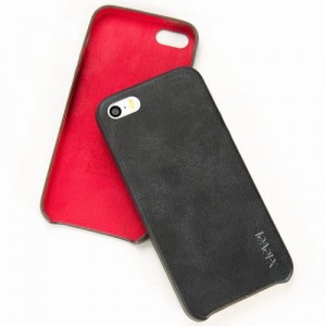 Etui Plecki X-LEVEL VINTAGE iPhone 5 5S SE Czarne