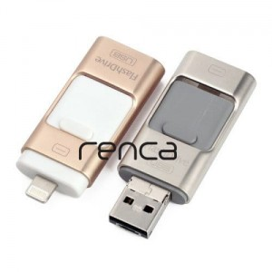 Pendrive 64GB pamięć flash iPhone iPad iOS OTG