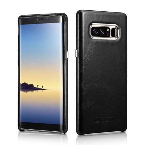 f25c0a46683 Skórzane Plecki Etui ICARER Samsung Galaxy Note 8 czarne - RencaGSM ...